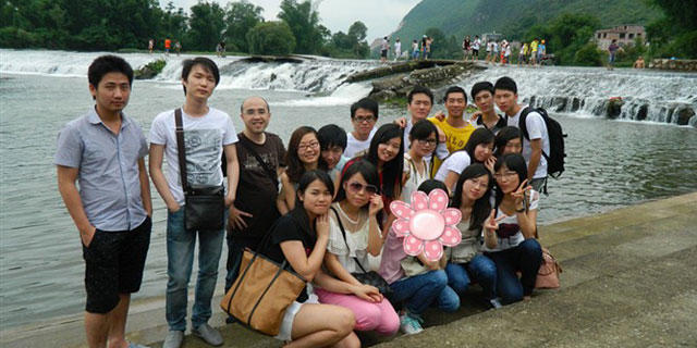 JDG Company's Tour to Guilin, Guangxi in 2012