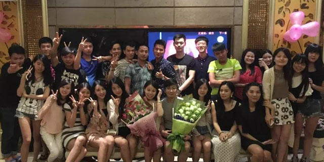 JDG celebrates its birthday buddies in 2015